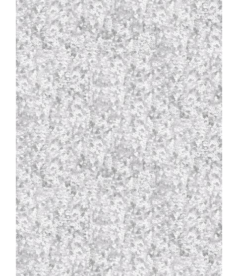Muriva Lipsy Sequins Wallpaper - Silver 144001