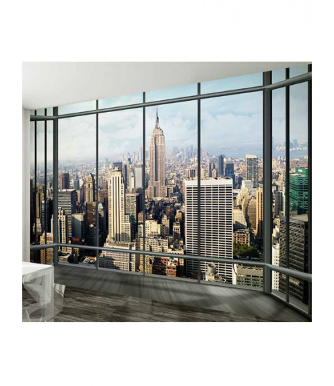 New York Empire State Wall Mural 2.32m x 3.15m