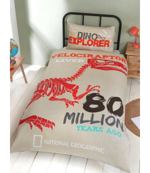 Juego de funda nórdica individual National Geographic Raptor