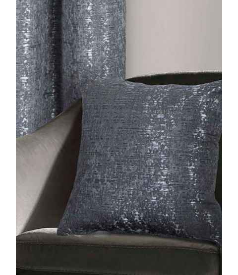 Belle Maison Cushion Cover, Nova Range, Charcoal