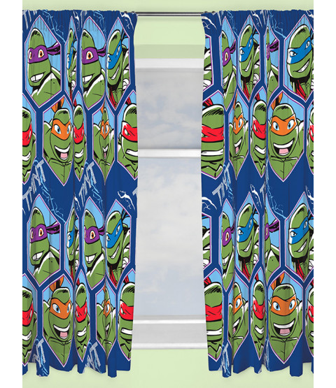 Turtles Dimension Curtains