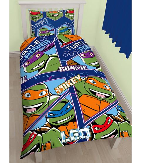 Teenage Mutant Ninja Turtles Dimension Single Duvet Cover Set (