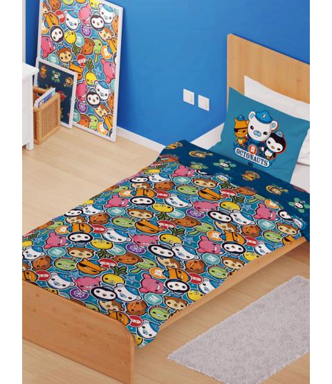 Octonauts Crew 4 en 1 Junior Bedding Bundle Set