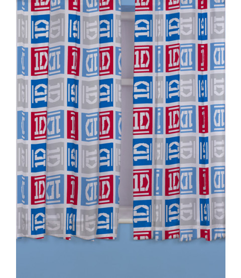 One Direction Craze Curtains