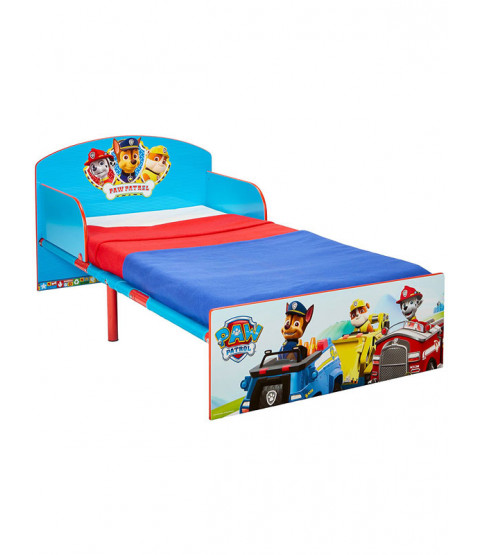 Paw Patrol Toddler Bed with Sprung Mattress