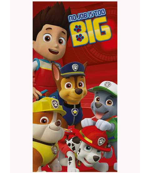 Paw Patrol No Job is Too Big Towel
