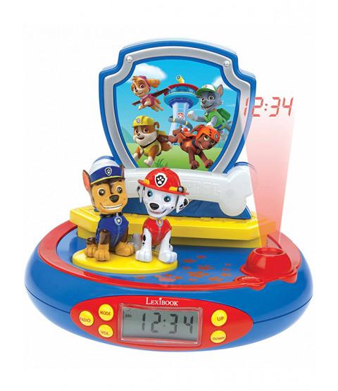 Paw Patrol Radio Alarm Clock Projector