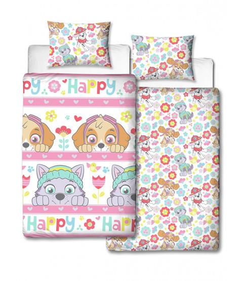 Paw Patrol Bright Single Duvet Cover and Pillowcase Set
