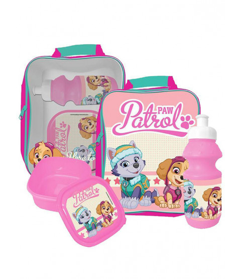 Paw Patrol 3 Piece Lunch Bag Set