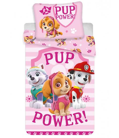 Paw Patrol Juego de funda nórdica de algodón Pup Power Single