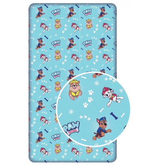 Paw Patrol Pups Single Fitted Sheet