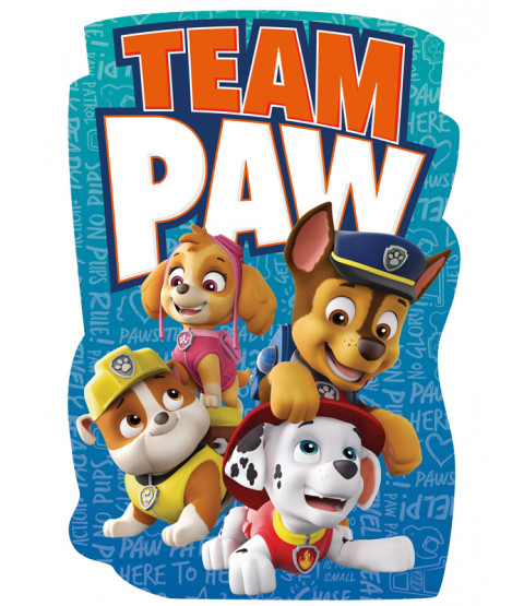 Paw Patrol Shaped Beach Towel