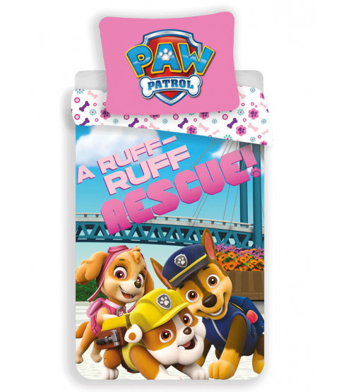 Paw Patrol Ruff Rescue Single Duvet Cover Set