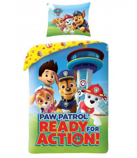 Paw Patrol Action Single Duvet Cover Set - European Size