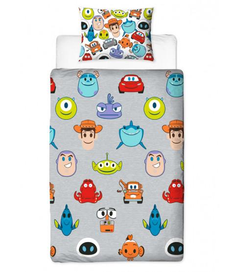 Disney Pixar Emoji individual cubierta del Duvet