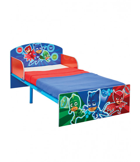PJ Masks Toddler Bed and Sprung Mattress