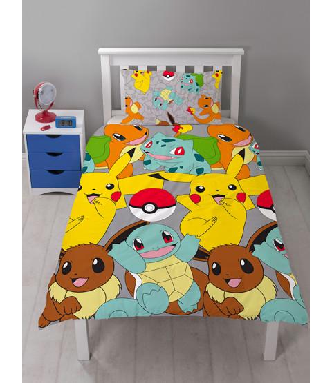 Pokémon Catch Single Duvet Cover Bedding Set