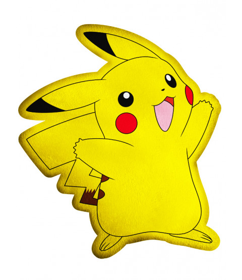 Pokémon Pikachu Cheer Shaped Cushion