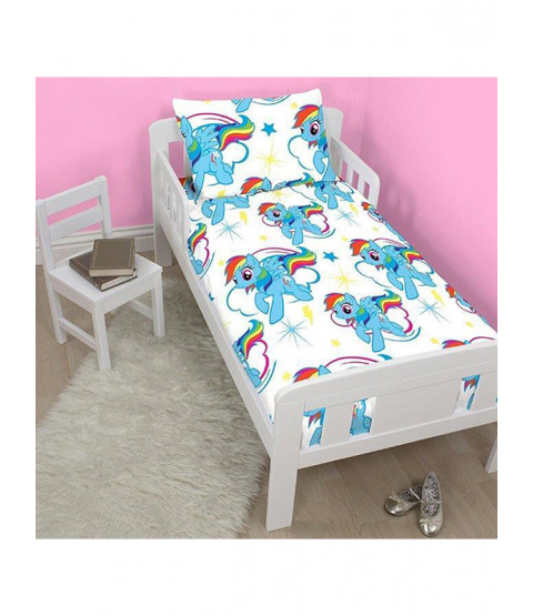 My Little Pony Dash 4 in 1 Junior Bedding Bundle Set (Duvet, Pillow, Covers) unicorn