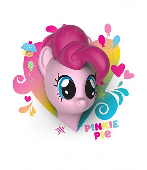 My Little Pony 3D LED Wall Light - Pinkie Pie