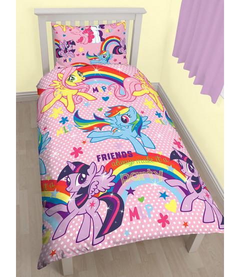 My Little Pony $91.41 Bedroom Makeover Kit Duvet Cover Front