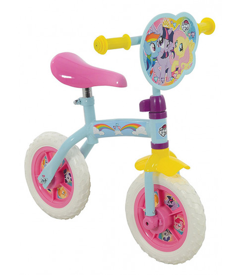 My Little Pony 2 in 1 Training and Balance Bike