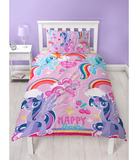 My Little Pony Crush Single Rotary Duvet Cover Set