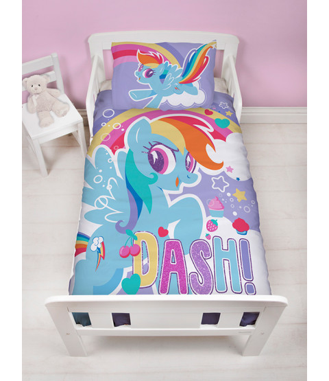 My Little Pony Crush Junior Panel Duvet Cover and Pillowcase Set