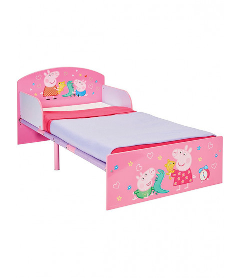 Peppa Pig Toddler Bed and Spung Mattress