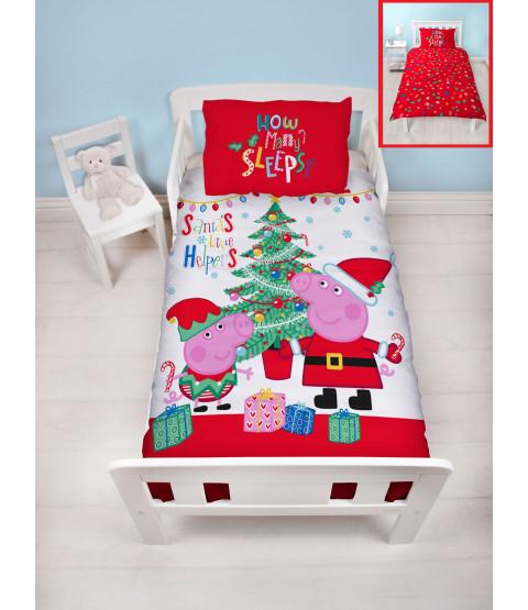 Peppa Pig Noel Single Panel Duvet Cover Set
