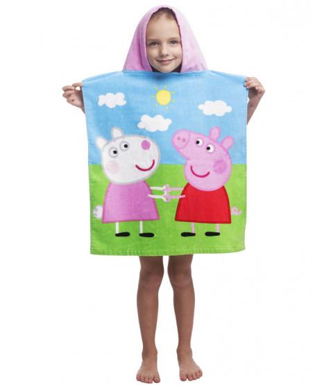 Peppa Pig Hooded Towel Poncho