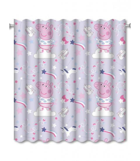 """Peppa Pig Sleepy Curtains 54 """"Drop"""
