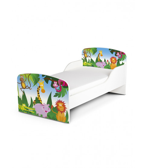 Jungle Toddler Bed