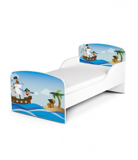 PriceRightHome Pirates Design esclusivo Lettino con materasso in schiuma Deluxe