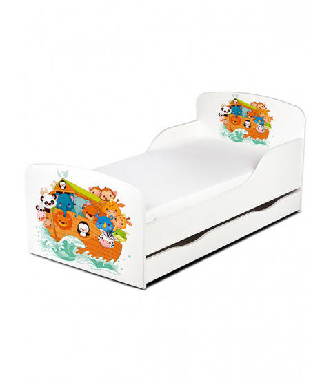 Noah's Ark Animals Toddler Bed
