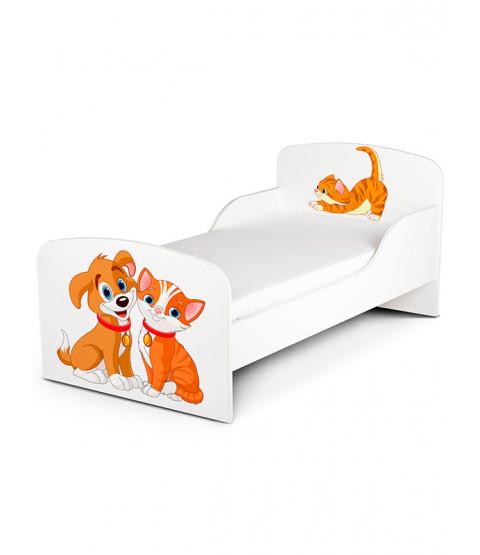 PriceRightHome Lettino per cani e gatti più materasso in schiuma