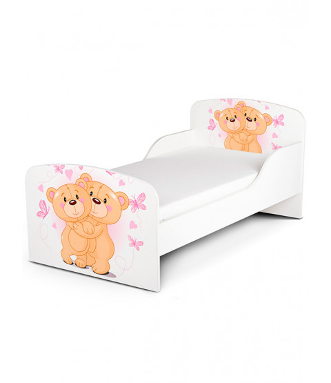 PriceRightHome Teddy Bear Hug Toddler Bed