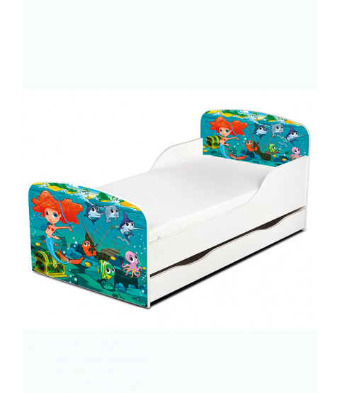 Mermaid Toddler Bed PriceRightHome