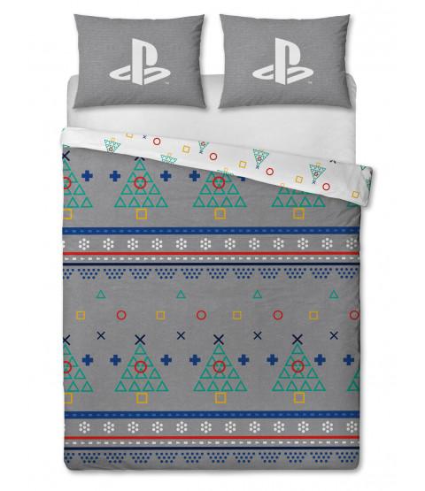 Playstation Jumper Double Christmas Duvet Cover Set