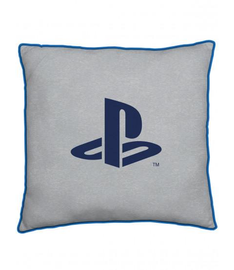 Coussin Carré Bleu Playstation