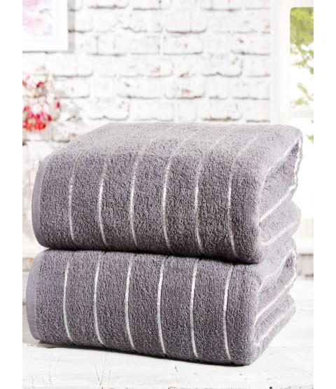 Sandringham 2 Piece Towel Bale Charcoal