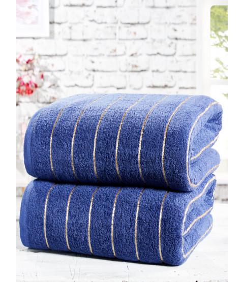 Sandringham 2 Piece Towel Bale Navy