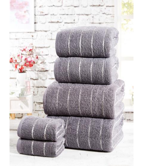 Sandringham 6 Piece Towel Bale Charcoal
