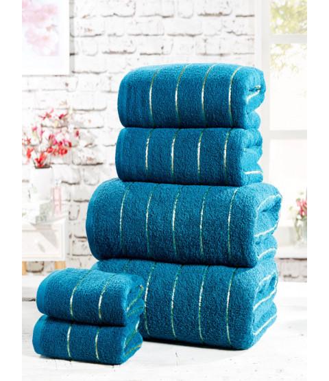 Sandringham 6 Piece Towel Bale Teal