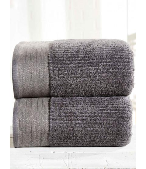 Mayfair 2 Piece Towel Bale Charcoal