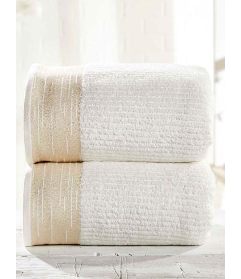 Mayfair 2 pezzi asciugamano crema per balle