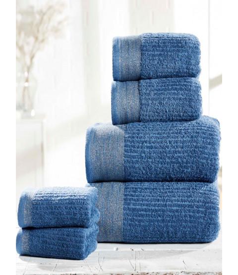 Mayfair 6 Piece Towel Bale Denim