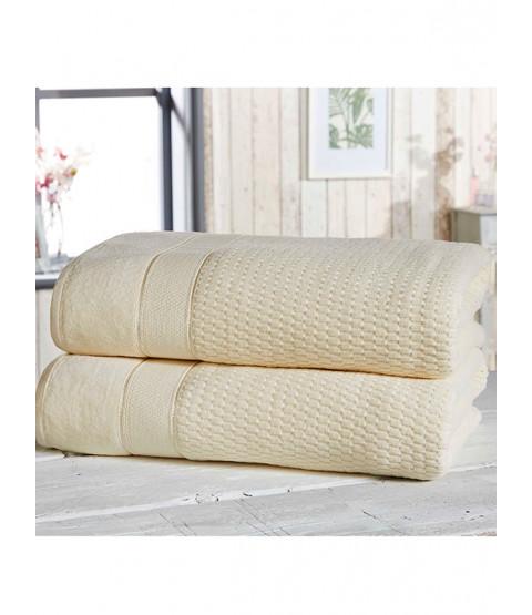 Royal Velvet 2 pezzi asciugamano crema di balle