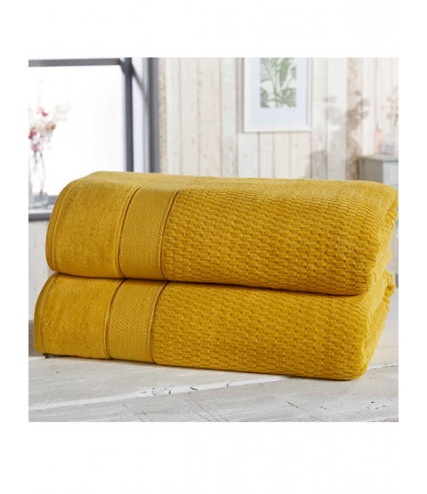 Royal Velvet 2 Piece Towel Bale Ochre