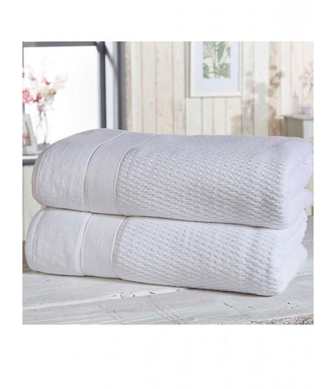 Royal Velvet 2 Piece Towel Bale White